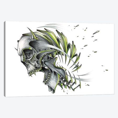 Skull Slice Canvas Print #JYN76} by JAYN Canvas Print