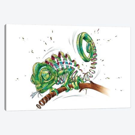 Chameleon Canvas Print #JYN7} by JAYN Art Print