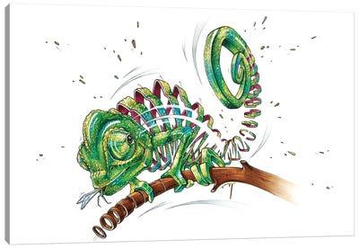 Chameleon Canvas Art Print