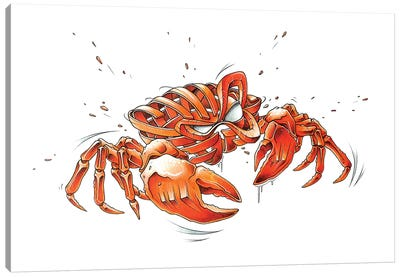 Crab by JAYN Canvas Art Print