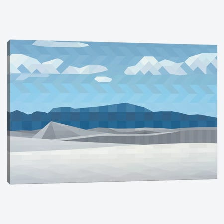 Clear Skies Canvas Print #JYO10} by Jun Youngjin Canvas Art Print