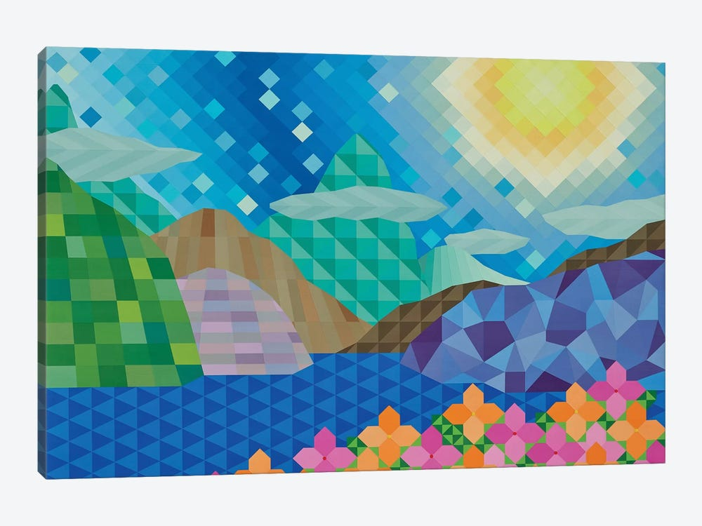 Day at the Lake by Jun Youngjin 1-piece Art Print