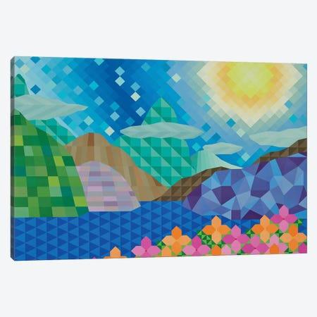 Day at the Lake Canvas Print #JYO12} by Jun Youngjin Canvas Art Print