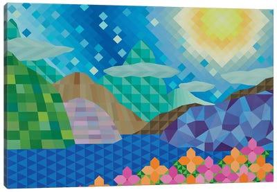 Day at the Lake Canvas Art Print