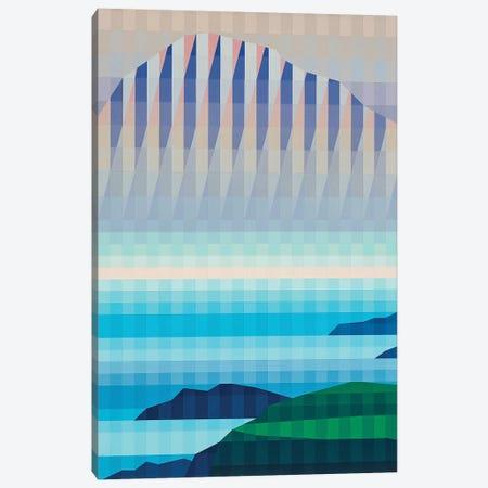 Foggy  Mountains Canvas Print #JYO17} by Jun Youngjin Canvas Art