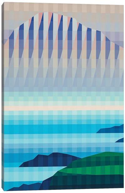 Foggy  Mountains Canvas Art Print