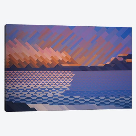 Abstract Sky Canvas Print #JYO1} by Jun Youngjin Canvas Art Print