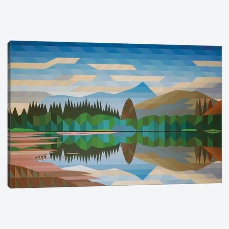 Lake Reflection III Canvas Print #JYO20} by Jun Youngjin Canvas Art
