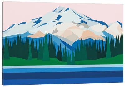 Mountain View Canvas Art Print