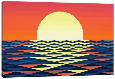 Nautical Sunset Canvas Art Print