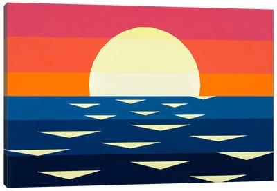Nautical Sunset II Canvas Art Print