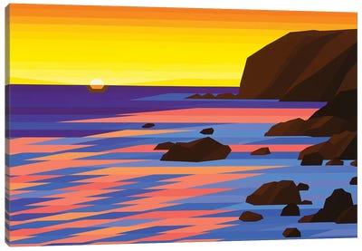 Shoreline Sunrise Canvas Art Print