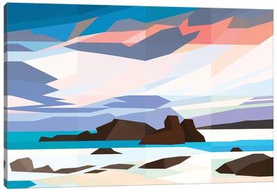 Snow Plains Canvas Art Print
