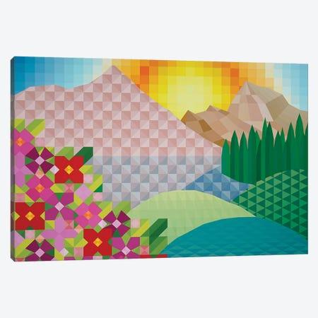 Sunny Hillside Canvas Print #JYO42} by Jun Youngjin Canvas Wall Art