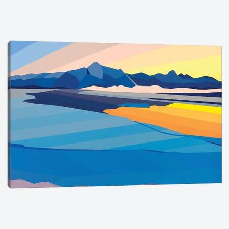 Sunset Reflection Canvas Print #JYO45} by Jun Youngjin Canvas Art Print