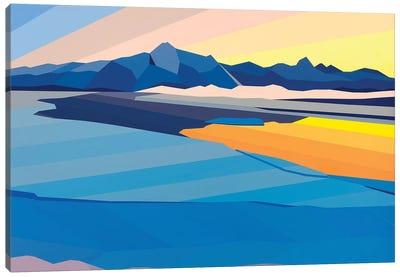 Sunset Reflection Canvas Art Print