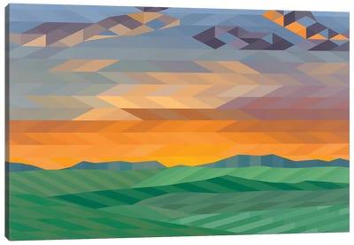 Wide Open Plains Canvas Art Print