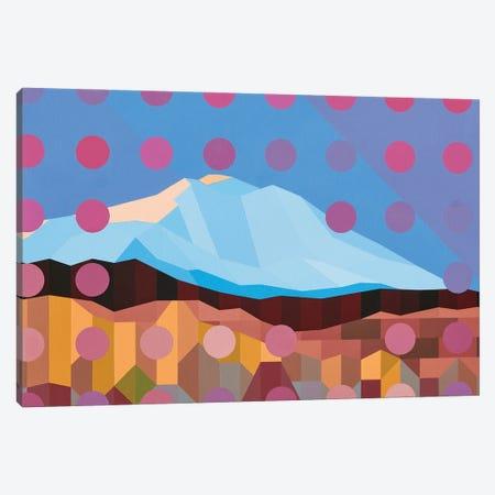 Dotted Mountain Canvas Print #JYO55} by Jun Youngjin Canvas Art