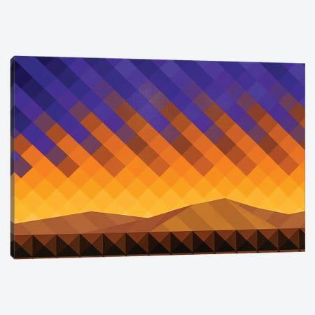 Purple Skies Canvas Print #JYO62} by Jun Youngjin Canvas Art