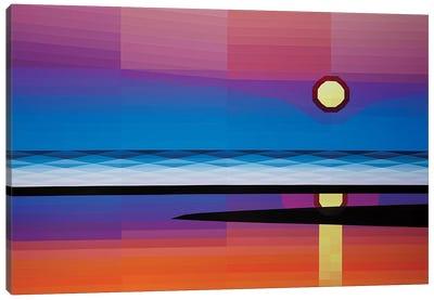 Beach Sunrise Canvas Art Print