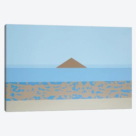 Pyramid Canvas Print #JYO72} by Jun Youngjin Canvas Print