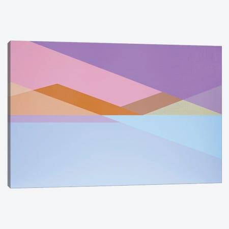 Geometric Mountains Canvas Print #JYO75} by Jun Youngjin Canvas Art