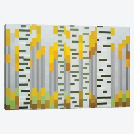 Aspens Canvas Print #JYO76} by Jun Youngjin Canvas Artwork