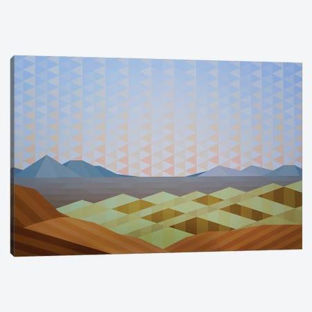 Triangle Sky Canvas Print #JYO77} by Jun Youngjin Canvas Wall Art