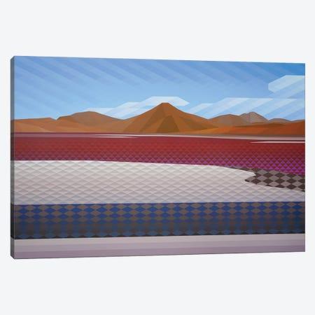 Desert Hues Canvas Print #JYO78} by Jun Youngjin Canvas Art Print