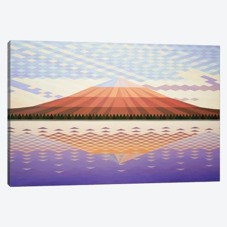 Purple Peak Canvas Print #JYO79} by Jun Youngjin Canvas Print