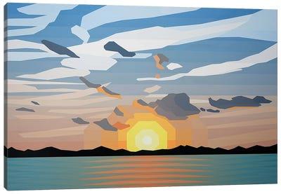 Beautiful Sunrise Canvas Art Print
