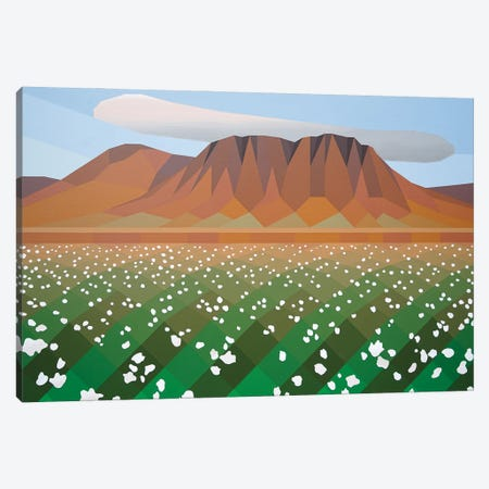 Lush Field Canvas Print #JYO84} by Jun Youngjin Canvas Print