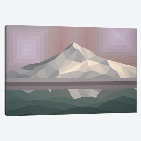 Neutral Peak Canvas Print #JYO85} by Jun Youngjin Art Print
