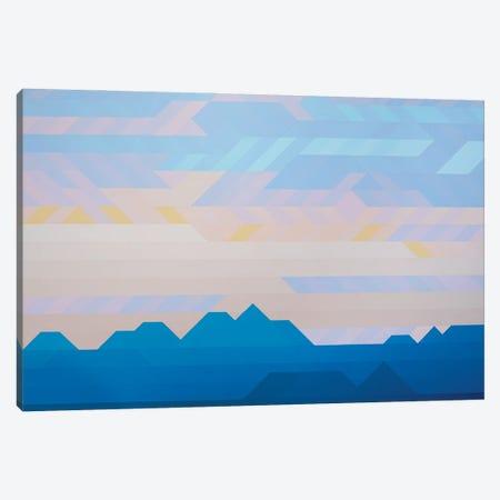 Pastel Sky Canvas Print #JYO87} by Jun Youngjin Canvas Print