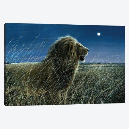 Moonlight On The Mara Canvas Print #JYP19} by Jeremy Paul Canvas Artwork