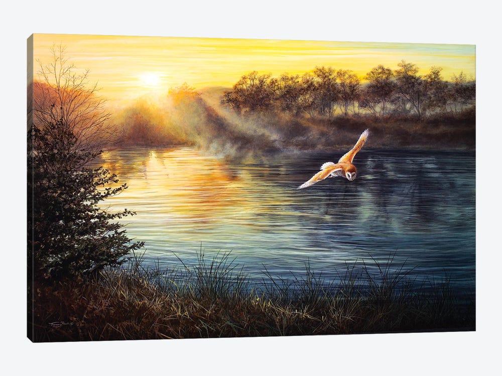 River Light - Barn Owl by Jeremy Paul 1-piece Canvas Print
