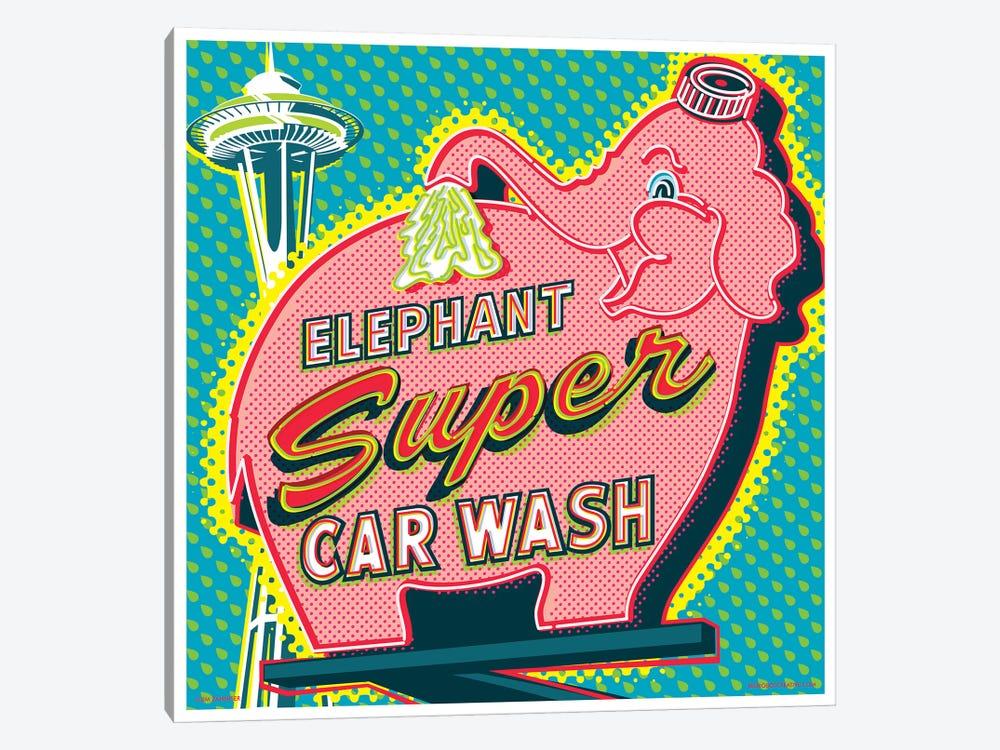 Elephant Car Wash Seattle Canvas Artwork By Jim Zahniser Icanvas