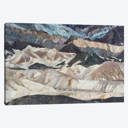 USA, California. Twenty Mule Team Canyon, Death Valley National Park. Canvas Print #JZI15} by Judith Zimmerman Canvas Art