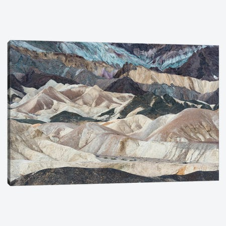 USA, California. Twenty Mule Team Canyon, Death Valley National Park. Canvas Print #JZI15} by Judith Zimmerman Canvas Art