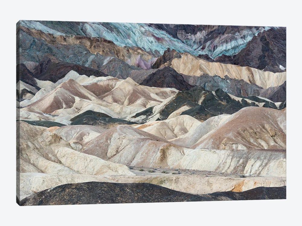 USA, California. Twenty Mule Team Canyon, Death Valley National Park. by Judith Zimmerman 1-piece Canvas Wall Art