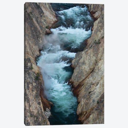 USA, Wyoming. Yellowstone River, Grand Canyon of the Yellowstone, Yellowstone National Park. Canvas Print #JZI23} by Judith Zimmerman Canvas Artwork