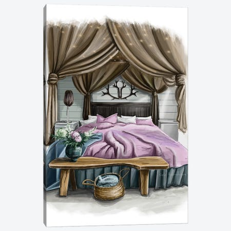 Bedroom Canvas Print #KAA11} by Kate Andryukhina Canvas Print