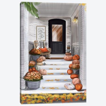 Entrance To A House Canvas Print #KAA13} by Kate Andryukhina Canvas Art Print