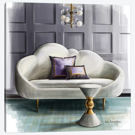 Please, Take A Seat Canvas Print #KAA21} by Kate Andryukhina Canvas Art
