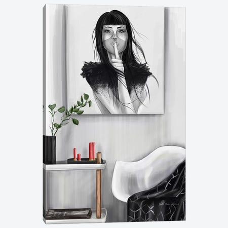 A Secret Canvas Print #KAA7} by Kate Andryukhina Canvas Print