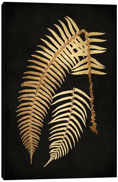 Golden Nature I Canvas Art Print