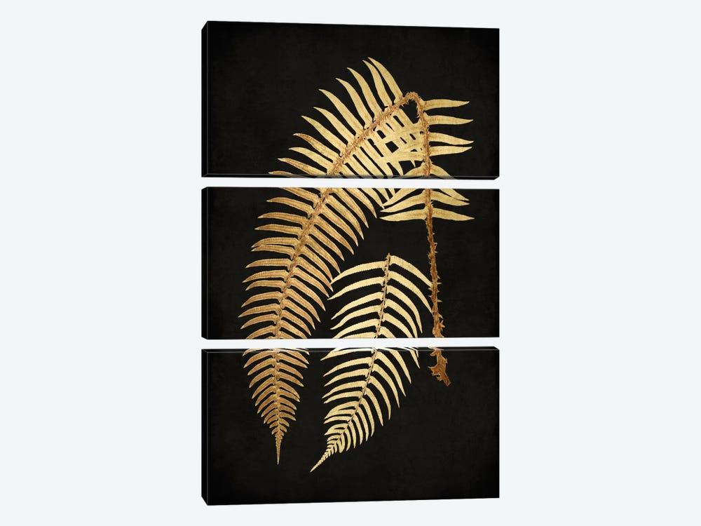 Golden Nature I by Kate Bennett 3-piece Canvas Artwork