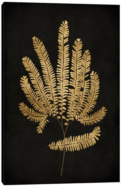 Golden Nature II Canvas Art Print