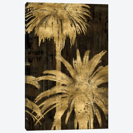 Golden Palms Panel II Canvas Print #KAB17} by Kate Bennett Canvas Print