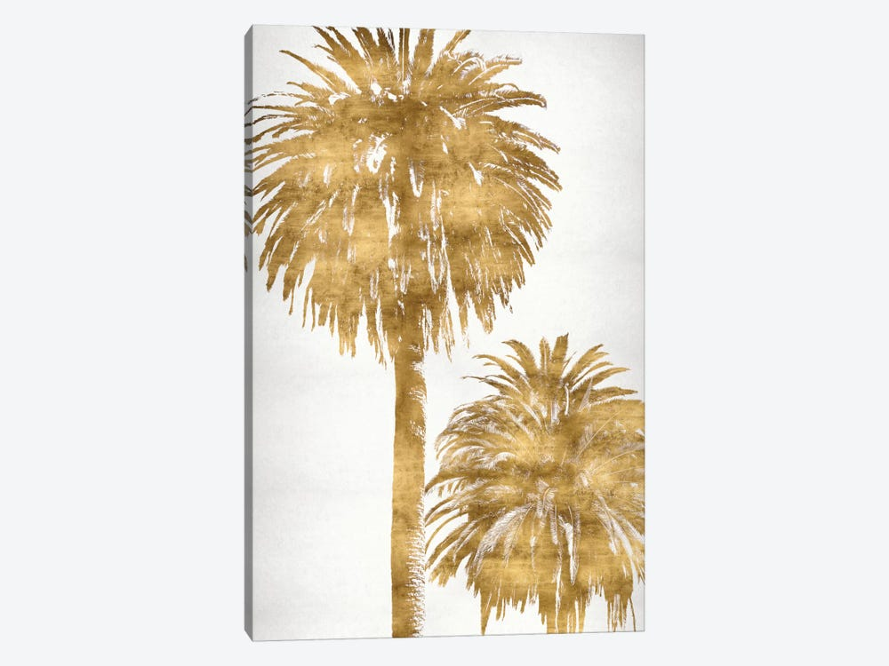 Golden Palms Panel III by Kate Bennett 1-piece Canvas Artwork